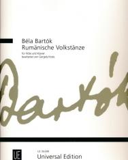 Bartók Béla: Rumänische Volktänze - fuvolára, zongorakísérettel