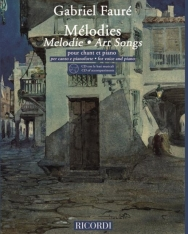 Gabriel Fauré: Art songs (CD melléklettel)