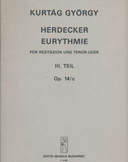 Kurtág György: Herdecker Eurythmie op. 14c