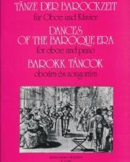 Barokk táncok oboára, zongorakísérettel
