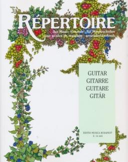 Répertoire gitárra
