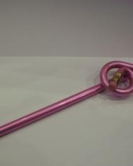 Ceruza - violinkulcs alakú, rózsaszín