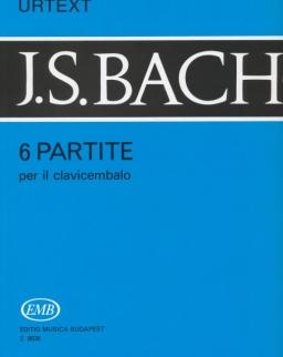 Johann Sebastian Bach: 6 Partita zongorára