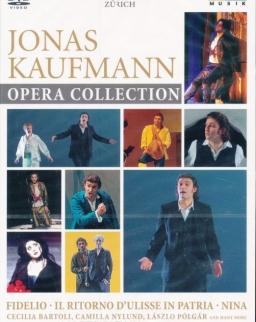 Jonas Kaufmann Opera Collection 3 DVD (Paisiello: Nina, Beethoven: Fidelio, Monteverdi: Il Ritorno...)