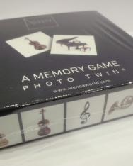 Memória játék - hangszeres