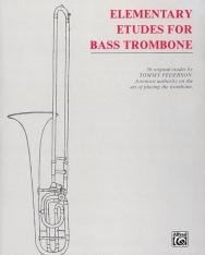 Elementary Etudes for Brass Trombone