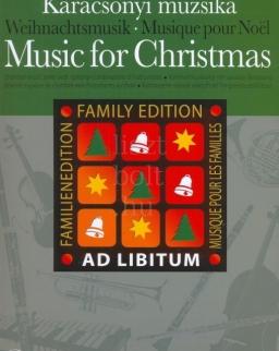 Karácsonyi muzsika -  Ad libitum sorozat, választható hangszerösszeállítással