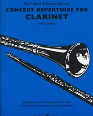 Concert Repertoire for Clarinet and Piano