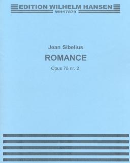 Jean Sibelius: Romance - hegedűre vagy csellóra zongorakísérettel