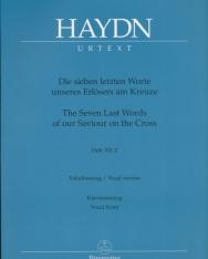 Joseph Haydn: Die sieben letzten Worte - zongorakivonat