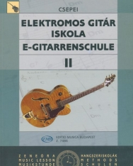 Csepei Tibor: Elektromos gitár iskola 2.