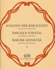 Barokk szonáták fagottra zongorakísérettel 1.