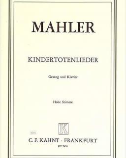 Gustav Mahler: Kindertotenlieder (hohe stimme)