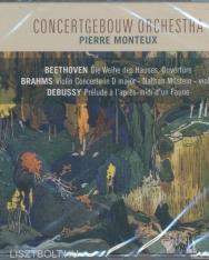 Beethoven: Die Weihe des Hauses Overtüre, Brahms: Violin concerto, Debussy: Prelude á l'aprés-midi d'un Faune