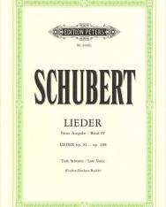 Franz Schubert: Lieder III. Tiefe Stimme (Urtext)