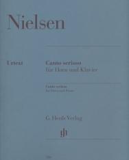 Carl Nielsen: Canto serioso - kürtre, zongorakísérettel
