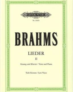 Johannes Brahms: Lieder II. tiefe