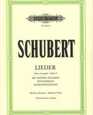 Franz Schubert: Lieder I. mittlere (neue Ausgabe)