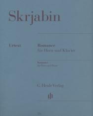 Alexander Scriabin: Romance - kürtre, zongorakísérettel