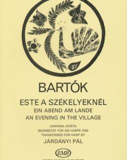 Bartók Béla: Este a székelyeknél (hárfa)