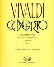 Antonio Vivaldi: Concerto for Flute D-dúr