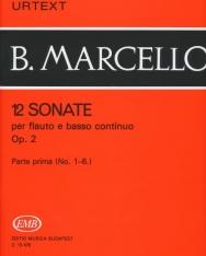 Benedetto Marcello: 12 Sonate fuvolára 1.