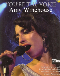 Amy Winehouse: You're The Voice - Great Songs (ének-zongora-gitár) CD-melléklettel