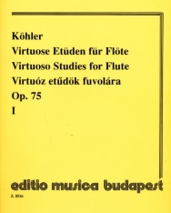 Ernesto Köhler: Virtuóz etűdök fuvolára op. 75.  1.