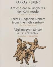 Farkas: Régi magyar táncok fuvolára