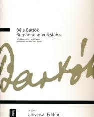 Bartók Béla: Rumänische Volktänze - alt szaxofonra, zongorakísérettel