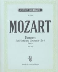 Wolfgang Amadeus Mozart: Concerto for Horn Nr. 4 KV 495