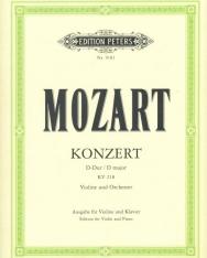 Wolfgang Amadeus Mozart: Concerto for Violin K. 218