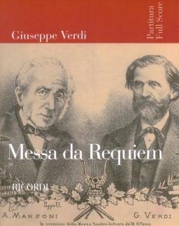 Giuseppe Verdi: Requiem - partitúra