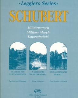 Franz Schubert: Katonainduló (leggiero sorozat, ifjúsági vonószenekarra)