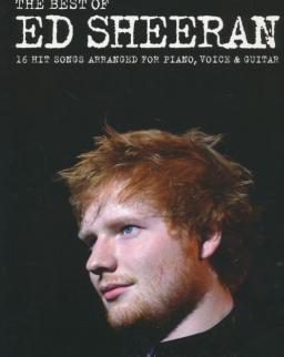 Ed Sheeran: Best of - ének,zongora,gitár