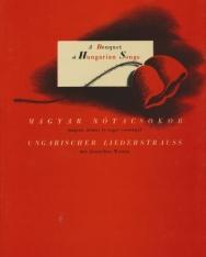 Magyar nótacsokor - magyar, német és angol versekkel