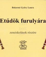 Bokorné Győry Laura: Etűdök furulyára zeneiskolások részére