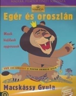 Egér és oroszlán DVD - Macskássy Gyula rajzfilmek 2.