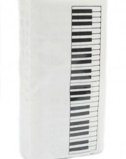 Papírzsebkendő - klaviatúrás
