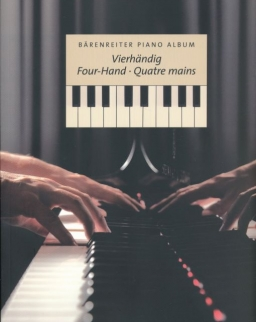 Bärenreiter Piano Album -  4 kezes művek