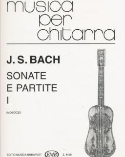 Johann Sebastian Bach: Sonate e Partite 1. - gitárra
