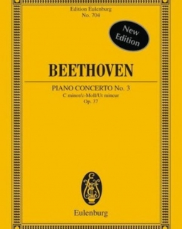 Ludwig van Beethoven: Concerto for piano Nr. 3  - kispartitúra