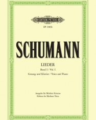 Robert Schumann: Lieder I. mittlere