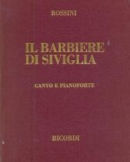 Gioacchino Rossini: Il Barbiere di Siviglia - zongorakivonat kötve (olasz, angol)