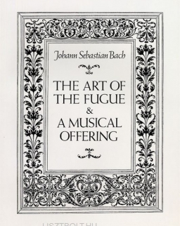 Johann Sebastian Bach: Art of Fugue, Musical Offering - partitúra