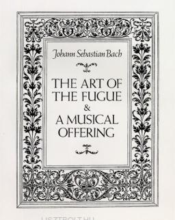 Johann Sebastian Bach: Art of Fugue, Musical Offering - partitúra