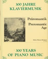 300 év zongoramuzsikája - Preromantika