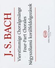 Johann Sebastian Bach: Négyszólamú korálfeldolgozások