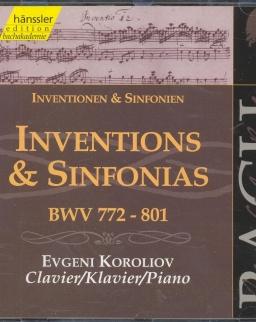Johann Sebastian Bach: Inventions & Sinfonias