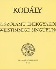 Kodály Zoltán: 77 kétszólamú énekgyakorlat